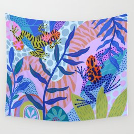 Poison Dart Frogs Wall Tapestry