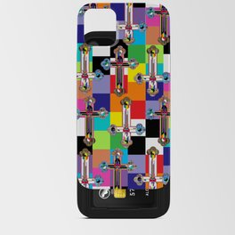 Jesus is The New Pattern 2 iPhone Card Case