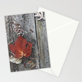 Mine Falls Maple Stationery Cards