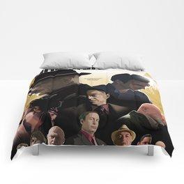 Breaking Bad - complete poster Comforters