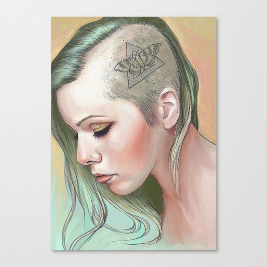 Caudal Lure Canvas Print