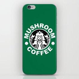 Super Mario's Mushroom Coffee iPhone Skin