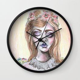 Their Eyes Are Always Watching Wall Clock