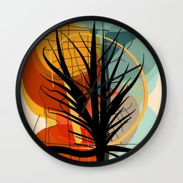 The Tree of Love and Life Wall Clock