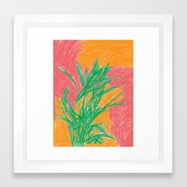 Plant, 2013. Framed Art Print