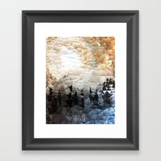 Midnight on the Mountain Framed Art Print