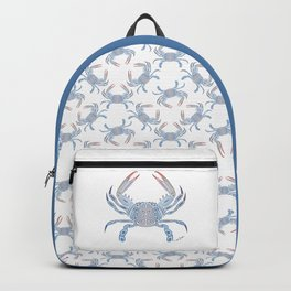 Tribal Blue Crab Backpack