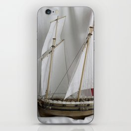 Le Coureur, french flag iPhone Skin
