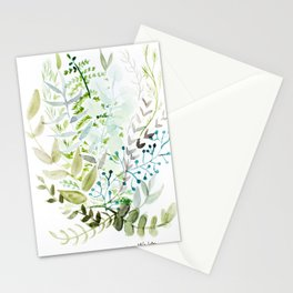Botanic Greens Stationery Cards