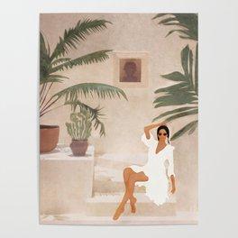 Graceful Resting II Poster