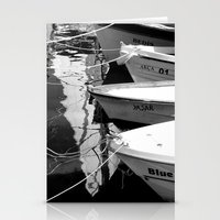 boats Stationery Cards featuring boats by habish