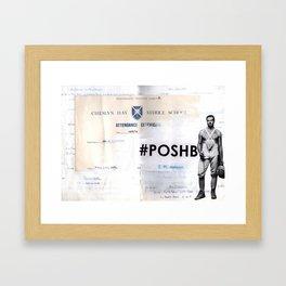 Poshboy Framed Art Print