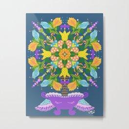 Fruitful tree of happiness  Metal Print