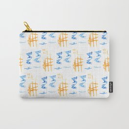 Donovan Print Carry-All Pouch