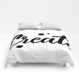 Create Comforters