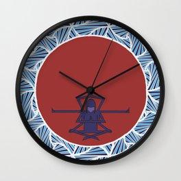 Zen Mandala Wall Clock