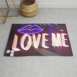 A Neon Tailspin Rug