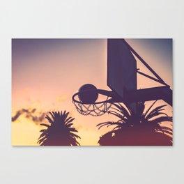 basketball hoop 1 Canvas Print