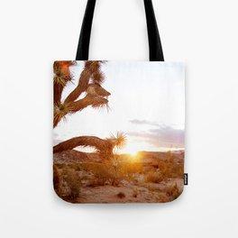Joshua Tree at Sunrise  Tote Bag