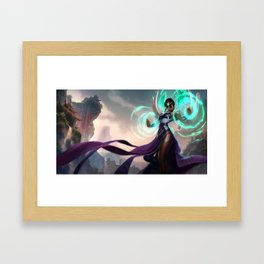 Classic Karma League of Legends Framed Art Print