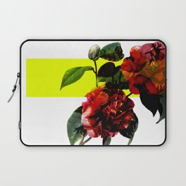 Vintage Blooms /Neon Block Laptop Sleeve