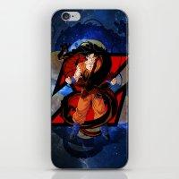 goku iPhone & iPod Skins featuring DBZ - Goku by Mr. Stonebanks