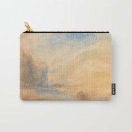 """J.M.W. Turner """"Mountain Landscape with Lake"""" Carry-All Pouch"""
