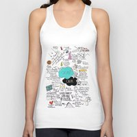 fault Tank Tops featuring The Fault in Our Stars- John Green by Natasha Ramon