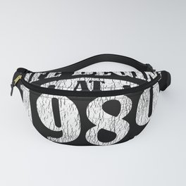 Life Begins 1989 The Birth Of Legend 32nd Birthday Fanny Pack