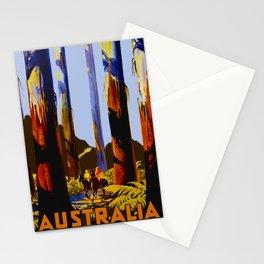 Vintage Australia Travel - Tallest Trees Stationery Cards