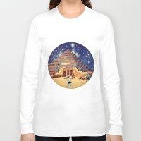 pyramid Long Sleeve T-shirts featuring Pyramid by Cs025