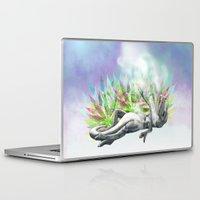 trex Laptop & iPad Skins featuring weed trex by raulovsky (Raúl Ramos Melo)
