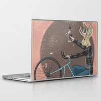 jackalope Laptop & iPad Skins featuring Jackalope by Kelli Shaver