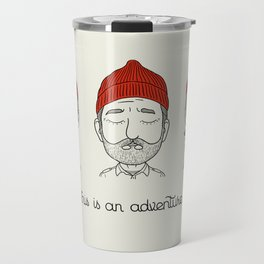 This is an Adventure Travel Mug