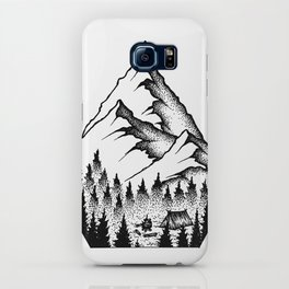 Mountain Camping iPhone Case