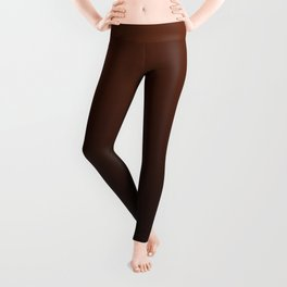 Chocolate Ombre Leggings