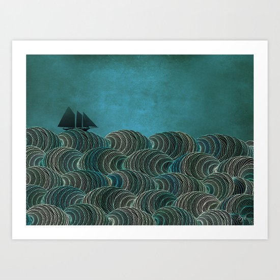 The Open Sea Art Print