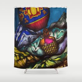 Solo Journey Shower Curtain