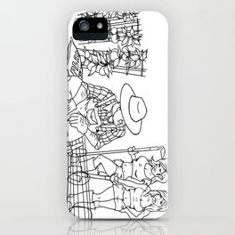 Garden Hoes iPhone Case