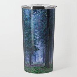 Green Magic Forest - Landscape Nature Photography Travel Mug