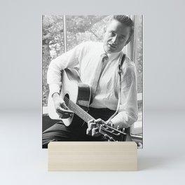 Johnny Cash Savoy Hotel London Mini Art Print