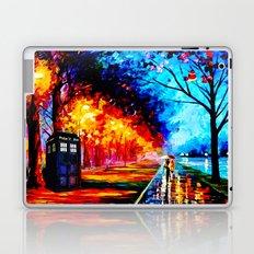 Tardis Style Laptop & iPad Skin
