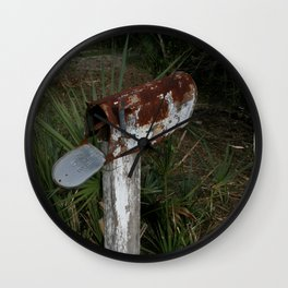 Rusty Mailbox DPG160301a Wall Clock