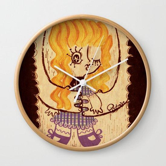 Niwawa - The Ophan Doll Wall Clock