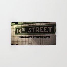 14th Street Station Hand & Bath Towel