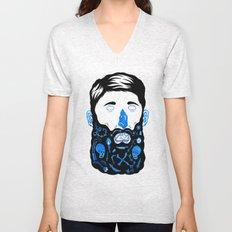 Pirate Beard Unisex V-Neck