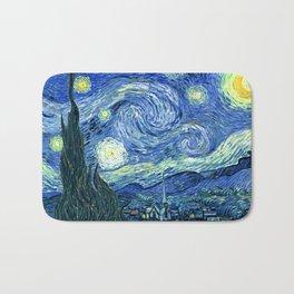 Vincent van Gogh Starry Night 1889 Bath Mat