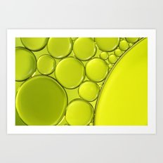 Simply Lime III Art Print
