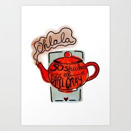 Ohlala Art Print