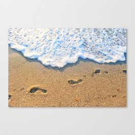 Follow Me To Paradise Canvas Print